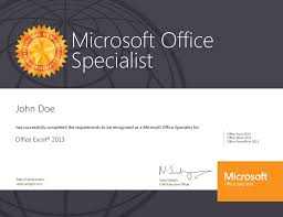 Office Word Resume Template Microsoft Certificate Template Microsoft Office Certificate