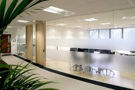 Separator Wall by Glass Office Partitions U0026 Wall Systems Avanti Systems Usa