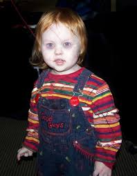 Creepiest Halloween Costumes Lent Small Red Headed Child Fun