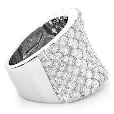 wedding rings pave images Unique diamond wedding bands 8 carat ladies pave diamonds ring jpg