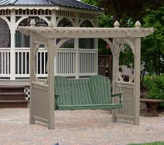 Gazebo Porch Swing by Outdoor Furniture