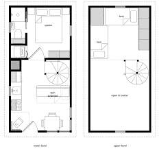 Loft Blueprints Very Small House Floor Plans The Small Guest House Designs Small