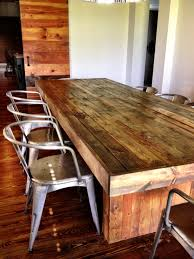 diy reclaimed wood dining table inspired by west elm cost under