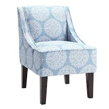 Floral Accent Chair Sky Blue Floral Accent Chair Furniture