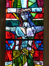 stained glass window free images cross christian material stained glass christ