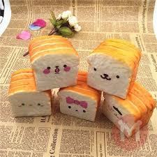 cuisine kawaii squishy 10cm kawaii emoji toast ใบหน าน าร กตกแต งโต ะขนมป ง