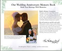 nittany quill wedding anniversary memory journal wholesale listing
