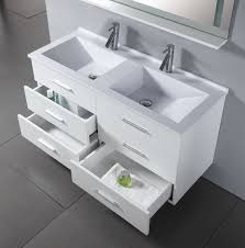 47 inch royal vanity wall hung vanity white sink vanity