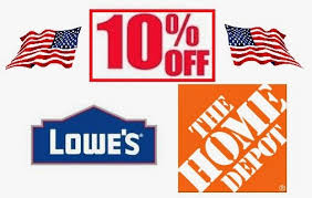 home depot black friday promo codes discounts u0026 deals 4 military home improvement stores lowe u0027s