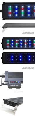 24 aquarium light bulb lighting and bulbs 46314 beamswork da fspec led aquarium light