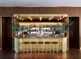 Living Room Bar Inside The Dewberry Charleston U0027s New Hotel With Midcentury Modern