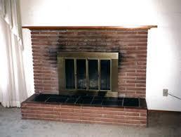 How To Update Brick Fireplace by John Davies U2013 The Hungry Mason U2013 Davies Construction U2013 Natural
