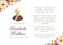 funeral card funeral card template funeral bookmarks template funeral program