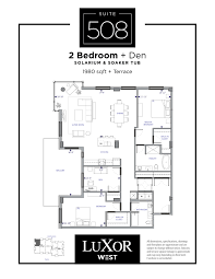 Mgm Signature One Bedroom Balcony Suite Floor Plan by Luxor Hotel Las Vegas Lasvegasjauntcom Luxor 2 Bedroom Suite Cryp Us