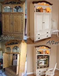 cheap tv armoire tv armoire converted to a sewing machine armoire diy upcycled