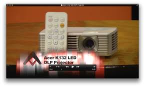 acer home theater projector acer k132 led dlp projector review audioholics