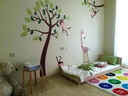 sol chambre bébé lit bebe sol deco arbre chambre bebe lit en bois a mame le sol