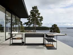 Outdoor Kitchen Stainless Steel Cabinets Modern Outdoor Kitchen Ideas Stainless Steel Propane Grill Gas