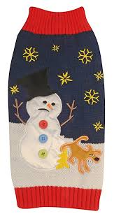 sweater with dogs on it amazon com york sweater for pets navy
