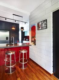 Home And Decor Flooring 9 Chic Homes With White Brick Walls Home U0026 Decor Singapore