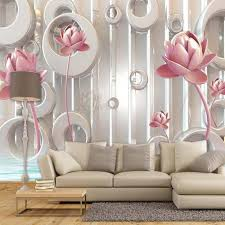 lotus wall mural promotion shop for promotional lotus wall mural 3d photo wallpaper lotus flower living room tv backdrop wallcovering wall decor large wall mural wall paper modern painting