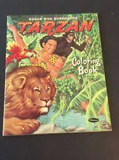 tarzan book whitman ebay