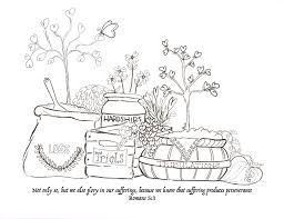 endurance xox scripture coloring pages printable reflect on the