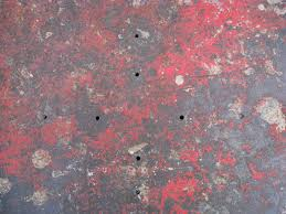 red floor paint how to splatter paint a floor 9 steps wikihow
