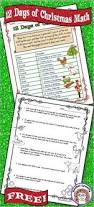 best 25 christmas math worksheets ideas on pinterest christmas