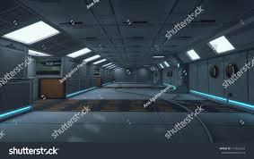 futuristic interior design 3d rendering futuristic interior design background stock