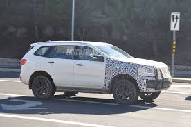 ford bronco 2018 interior spied 2019 ford ranger and 2020 ford bronco mule