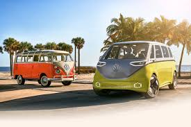 volkswagen hippie van name it u0027s official the vw bus is back and it u0027s electric u2013 newsroom