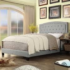 Grey Bed Frame Gray Beds You Ll Wayfair