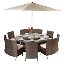 Round Garden Table With Lazy Susan by Outdoor Lazy Susan With Umbrella Hole Uk Outdoor Designs