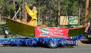 parade ribbon float earns ribbon river reflections a local newspaper