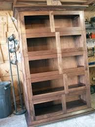 stacking barrister u0027s bookcase walnut finewoodworking