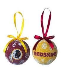 washington redskins ornaments washington redskins glass logo