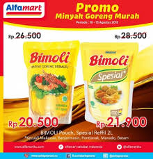 Minyak Goreng Di Alfamart Hari Ini alfamart promo minyak goreng murah periode 10 13 agustus 2015