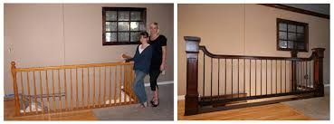 Wood Stair Banisters Interior Stair Railing Design Wood Stairs