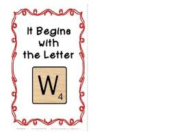 interactive beginning reader for the letter w 23 picture words