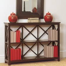 Bookcase Wide Saltire Modular Wooden Bookcase Wide Oka