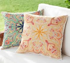 Penelope Bedding Pottery Barn Penelope Indoor Outdoor Pillow Pottery Barn