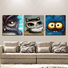online buy wholesale modern abstract oil painting owl from china
