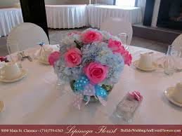 flower arrangements for the baby shower decorating of party