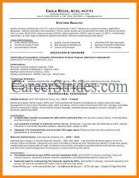 system analyst resume 6 system analyst resume sles handy resume