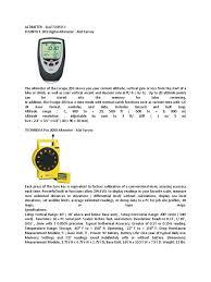altimeter compass altimeter