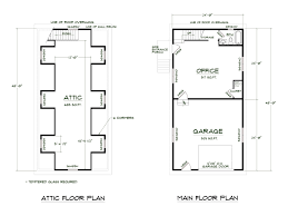 1 Bedroom Garage Apartment Floor Plans by Medeek Design Inc Search Plans