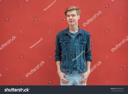casual with boy posing contrasting stock photo 508099924