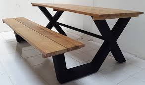 Bench And Table Set Custom Made Furniture For A Condominium In Singapore