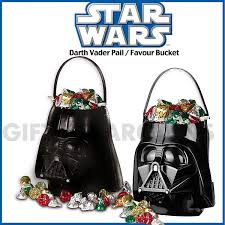 star wars birthday party favour bucket darth vader candy loot
